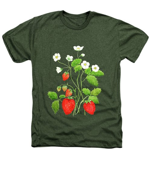 Strawberry  Heathers T-Shirt by Color Color