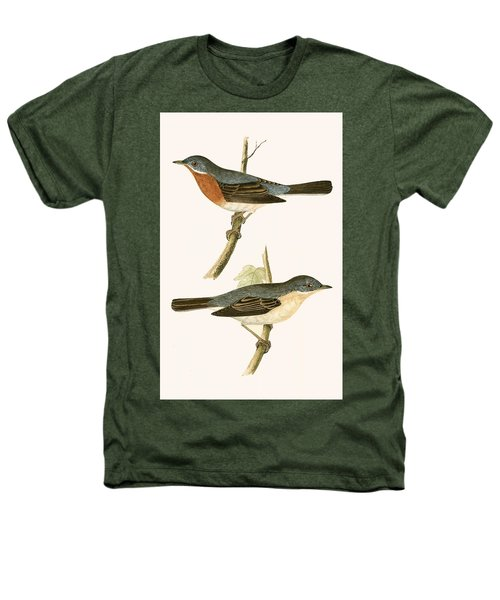 Sub Alpine Warbler Heathers T-Shirt by English School
