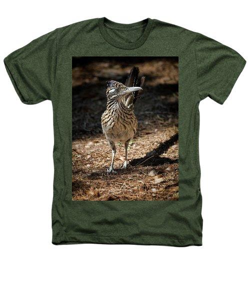 The Greater Roadrunner Walk  Heathers T-Shirt by Saija Lehtonen