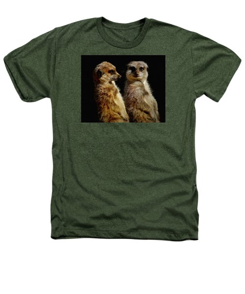 The Meerkats Heathers T-Shirt by Ernie Echols