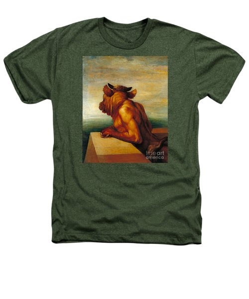 The Minotaur Tate Britain Heathers T-Shirt by George Frederic