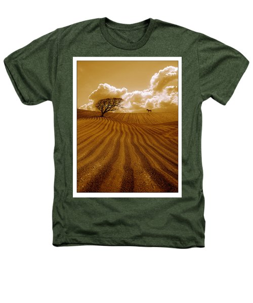 The Ploughed Field Heathers T-Shirt by Mal Bray