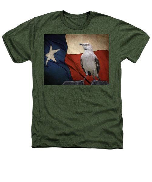 The State Bird Of Texas Heathers T-Shirt by David and Carol Kelly