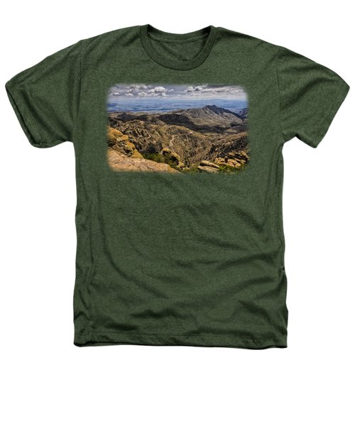 Windy Point No.1 Heathers T-Shirt by Mark Myhaver