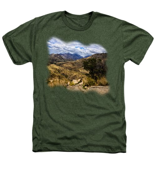Windy Point No.15 Heathers T-Shirt by Mark Myhaver