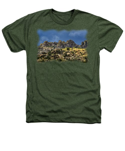 Windy Point No.7 Heathers T-Shirt by Mark Myhaver