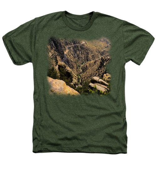 Windy Point No.9 Heathers T-Shirt by Mark Myhaver
