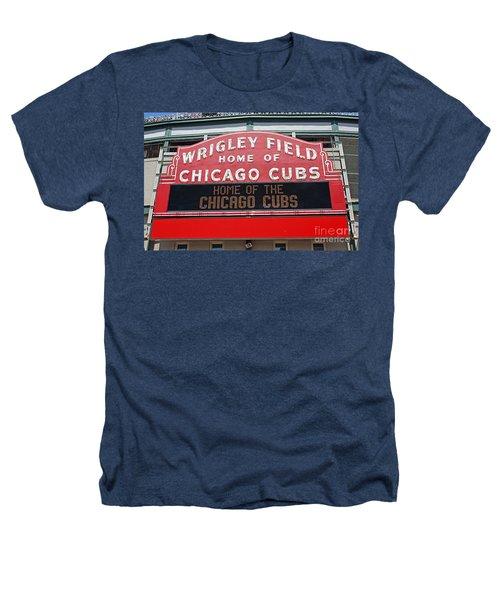 0334 Wrigley Field Heathers T-Shirt by Steve Sturgill