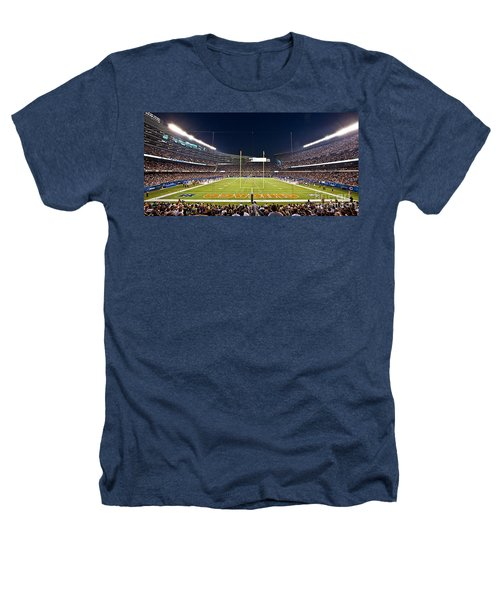 0587 Soldier Field Chicago Heathers T-Shirt by Steve Sturgill