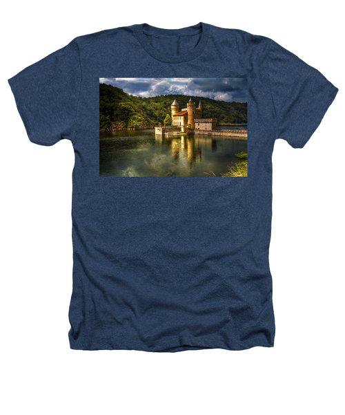 Chateau De La Roche Heathers T-Shirt by Debra and Dave Vanderlaan