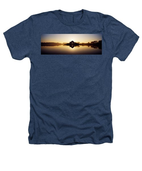 Memorial At The Waterfront, Jefferson Heathers T-Shirt by Panoramic Images
