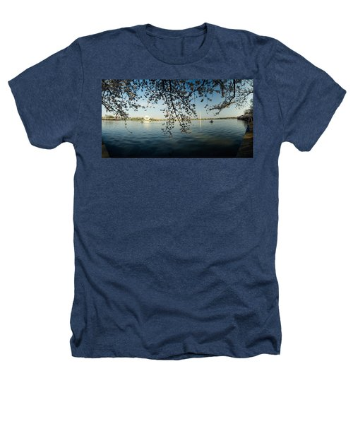 Monument At The Waterfront, Jefferson Heathers T-Shirt by Panoramic Images