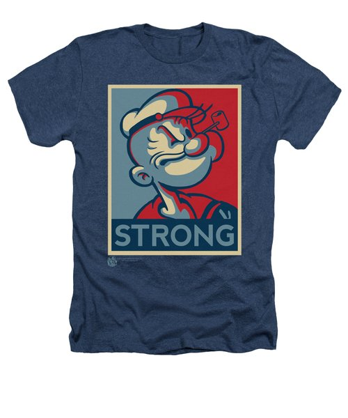 Popeye - Strong Heathers T-Shirt by Brand A