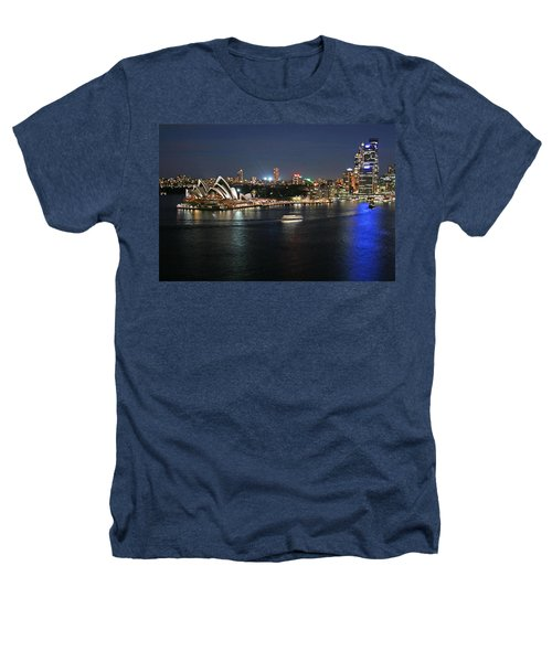 Sydney Harbor At Circular Quay Heathers T-Shirt by Ellen Henneke