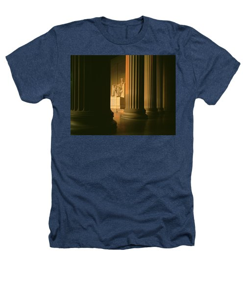 The Lincoln Memorial In The Morning Heathers T-Shirt by Panoramic Images
