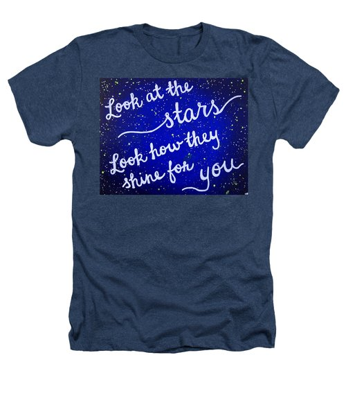 11x14 Look At The Stars Heathers T-Shirt by Michelle Eshleman