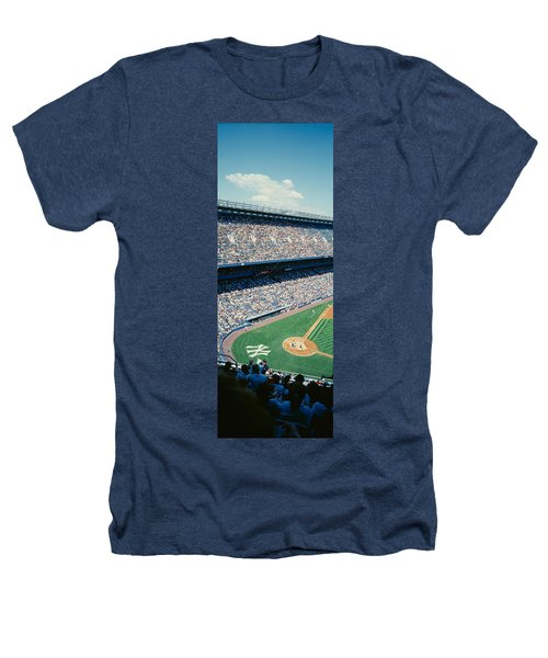High Angle View Of Spectators Watching Heathers T-Shirt by Panoramic Images