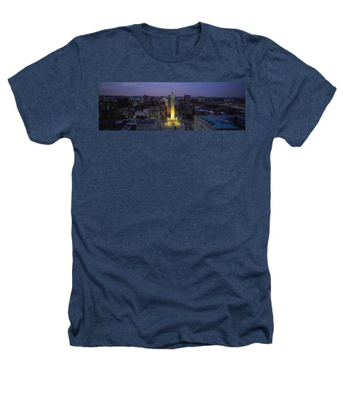 High Angle View Of A Monument Heathers T-Shirt by Panoramic Images
