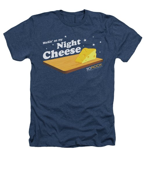 30 Rock - Night Cheese Heathers T-Shirt by Brand A