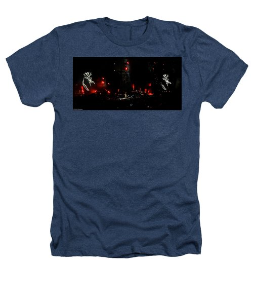 Coldplay - Sydney 2012 Heathers T-Shirt by Chris Cousins