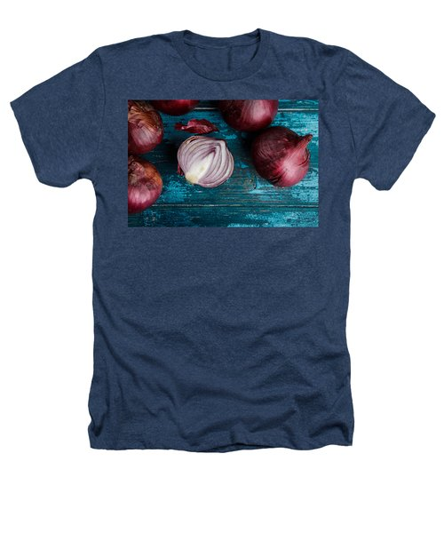 Red Onions Heathers T-Shirt by Nailia Schwarz