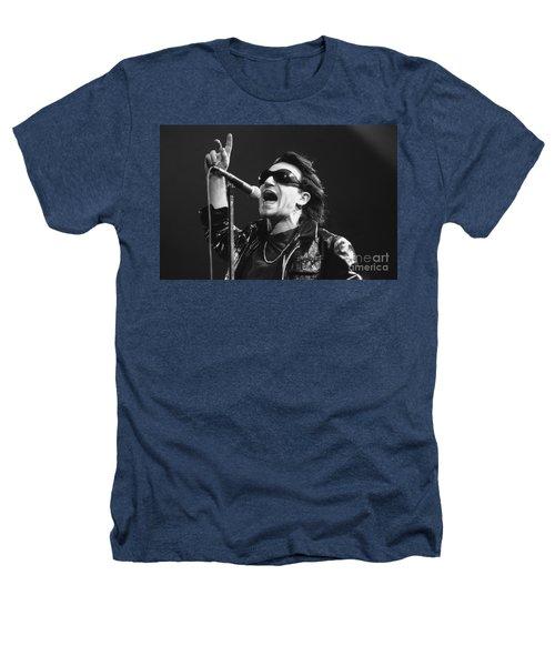 U2 - Bono Heathers T-Shirt by Concert Photos