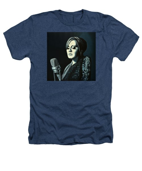 Adele Skyfall Painting Heathers T-Shirt by Paul Meijering