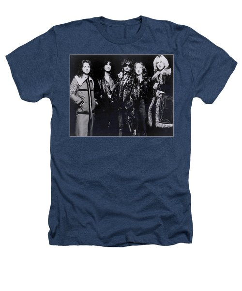 Aerosmith - America's Greatest Rock N Roll Band Heathers T-Shirt by Epic Rights