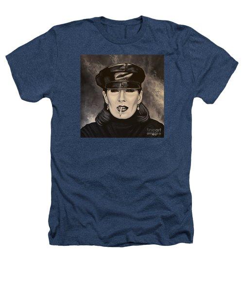 Anjelica Huston Heathers T-Shirt by Paul Meijering