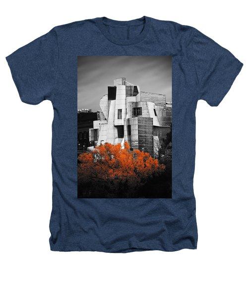 autumn at the Weisman Heathers T-Shirt by Matthew Blum