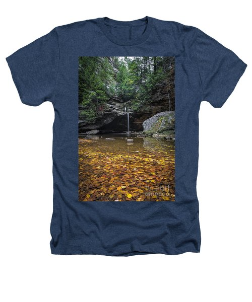Autumn Falls Heathers T-Shirt by James Dean