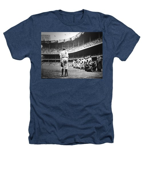 Babe Ruth Poster Heathers T-Shirt by Gianfranco Weiss