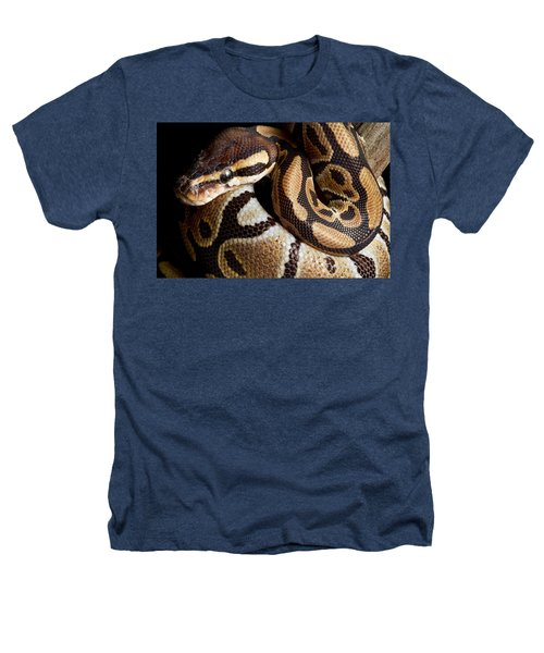 Ball Python Python Regius Heathers T-Shirt by David Kenny