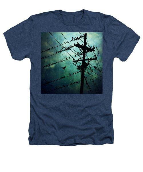 Bird City Heathers T-Shirt by Trish Mistric