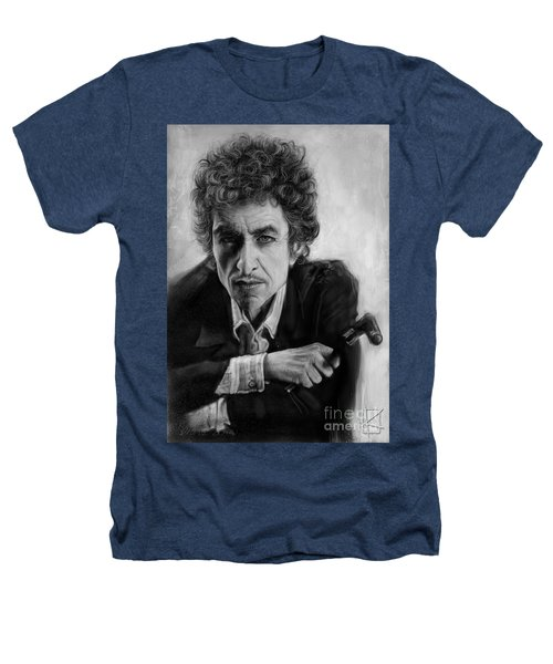Bob Dylan Heathers T-Shirt by Andre Koekemoer