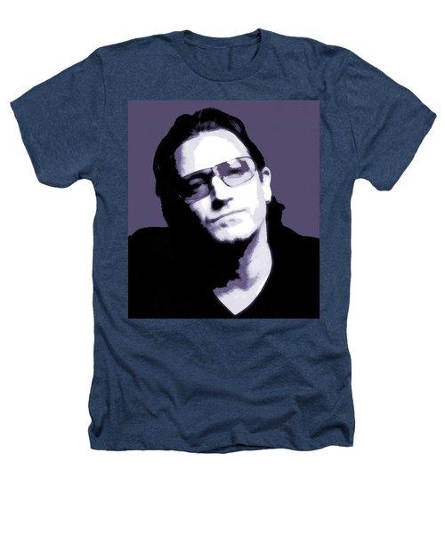 Bono Portrait Heathers T-Shirt by Dan Sproul