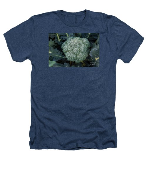 Broccoli Heathers T-Shirt by Robert Bales