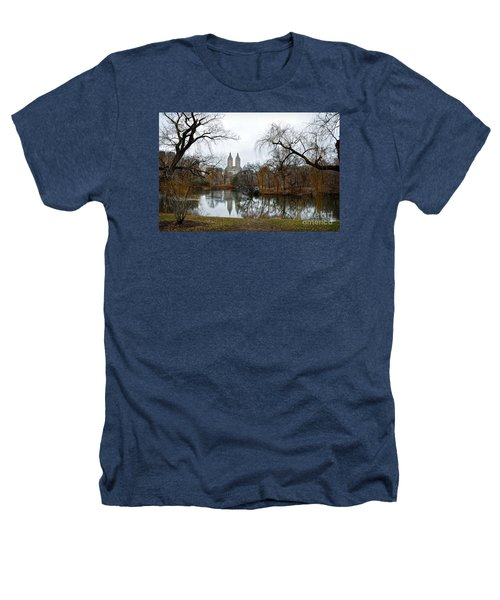 Central Park And San Remo Building In The Background Heathers T-Shirt by RicardMN Photography