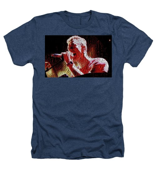 Chris Martin - Montage Heathers T-Shirt by Chris Cousins