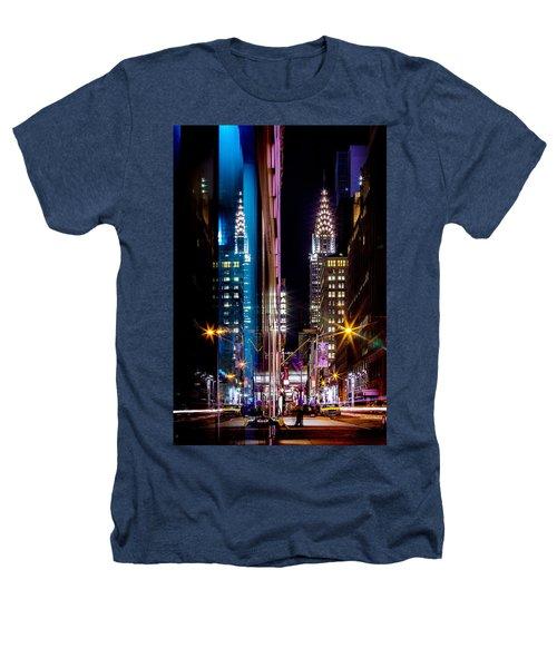 Color Of Manhattan Heathers T-Shirt by Az Jackson