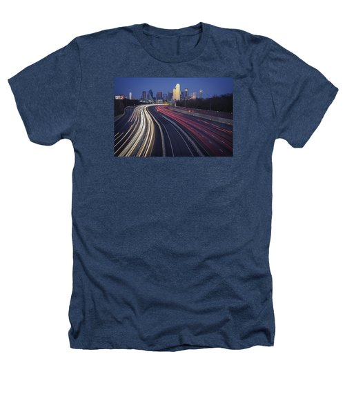 Dallas Afterglow Heathers T-Shirt by Rick Berk