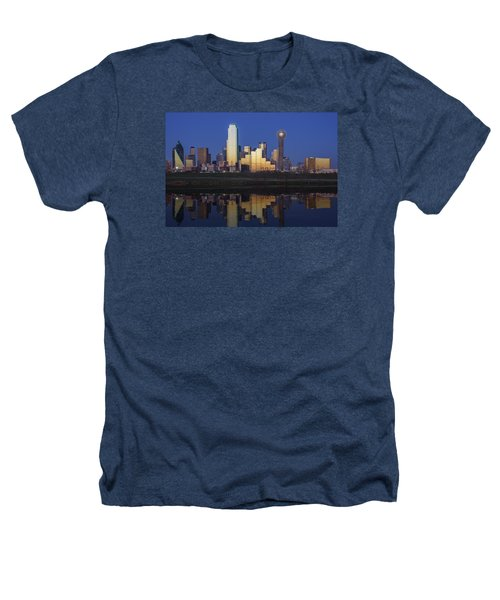 Dallas Twilight Heathers T-Shirt by Rick Berk