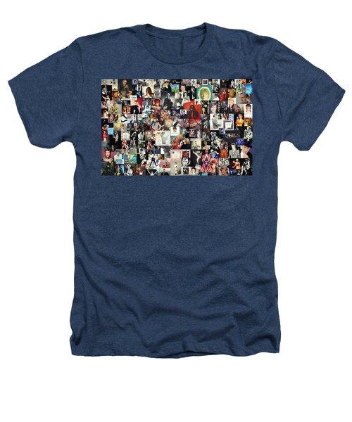David Bowie Collage Heathers T-Shirt by Taylan Apukovska