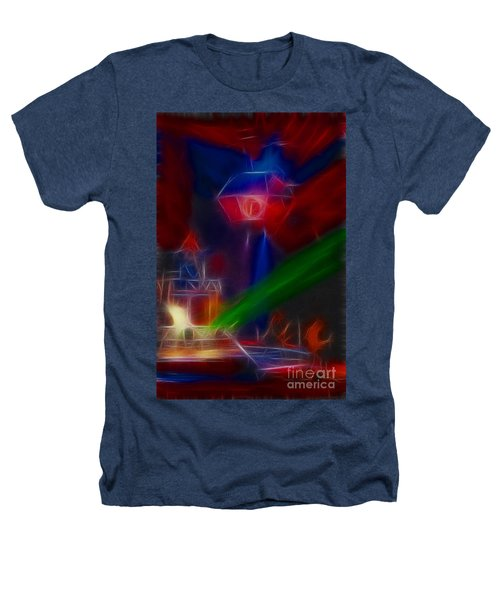 Def Leppard-adrenalize-gf12-fractal Heathers T-Shirt by Gary Gingrich Galleries