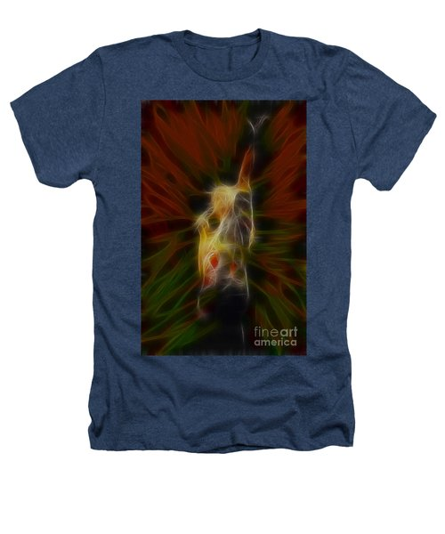 Def Leppard-adrenalize-joe-gb22-fractal-1 Heathers T-Shirt by Gary Gingrich Galleries
