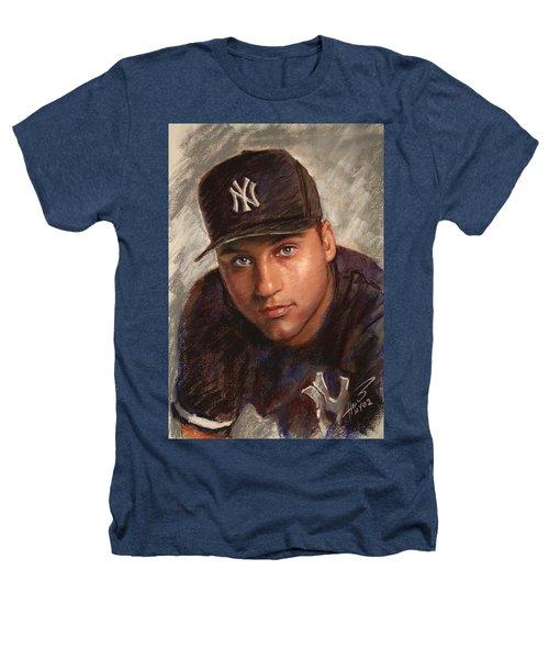 Derek Jeter Heathers T-Shirt by Viola El