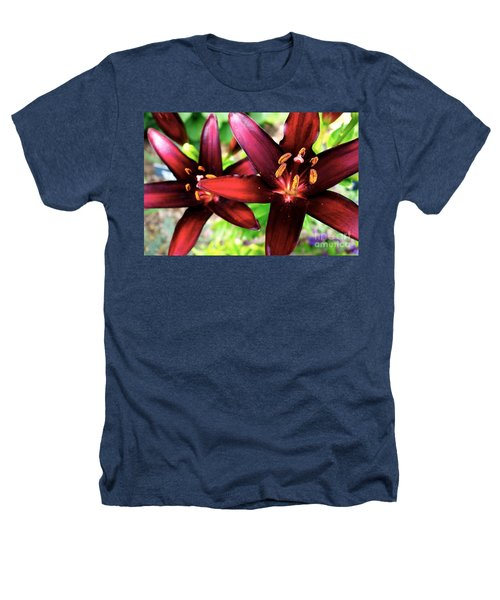 Dimension Lily 2 Heathers T-Shirt by Jacqueline Athmann