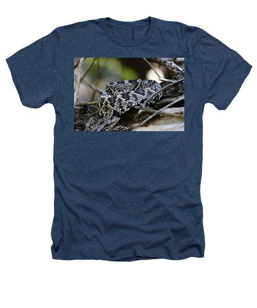Eastern Diamondback-1 Heathers T-Shirt by Rudy Umans