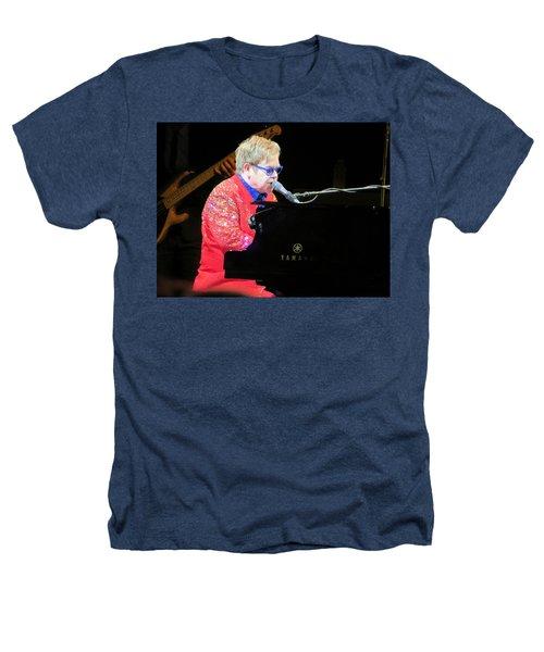 Elton John Live Heathers T-Shirt by Aaron Martens