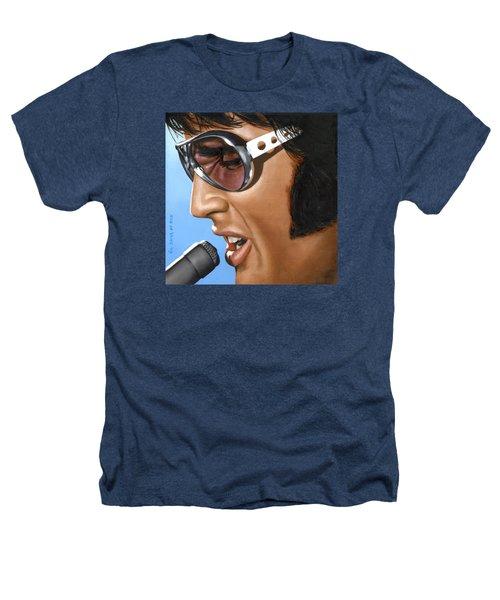 Elvis 24 1970 Heathers T-Shirt by Rob De Vries